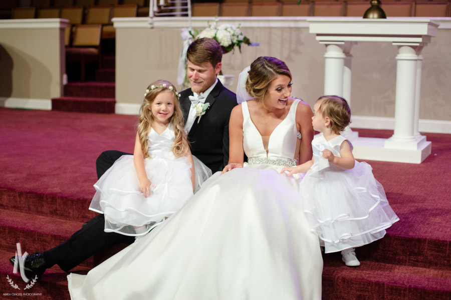 Sweetest little flower girls ever <3