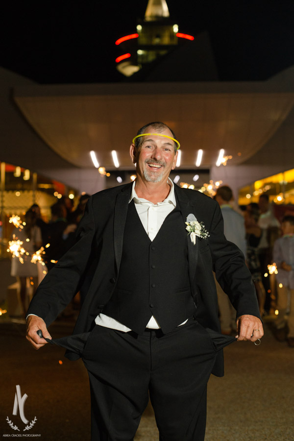 When the bride's dad requests this shot at the end of the night, you take it! :)
