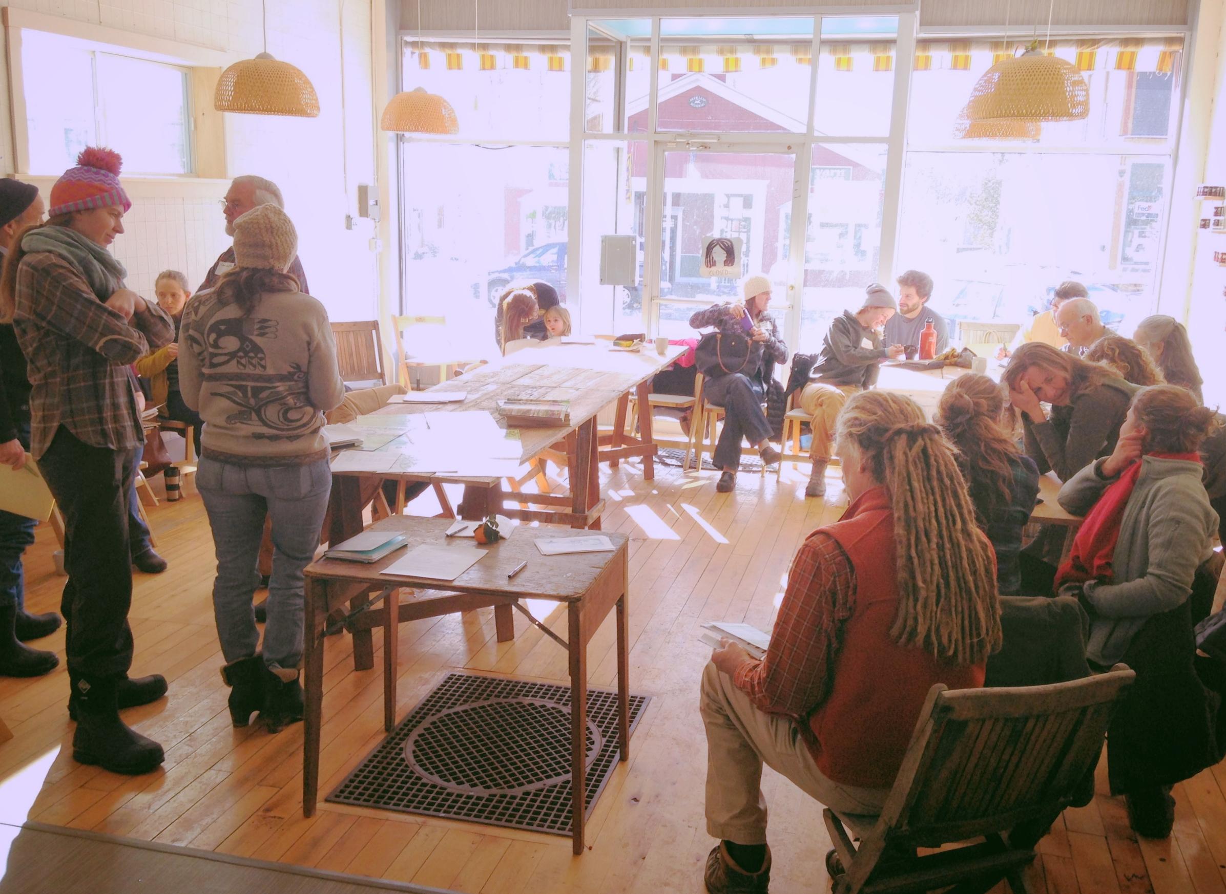 ACORN Growers meeting, tandem, bristol, january 2016