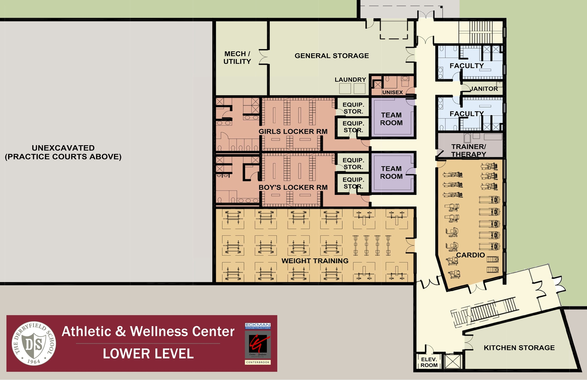 Athletic & Wellness - Lower Level