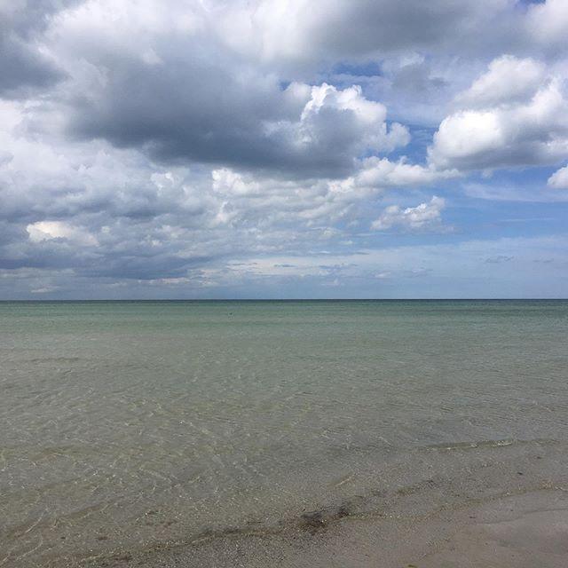 Ny strand som er vild flot