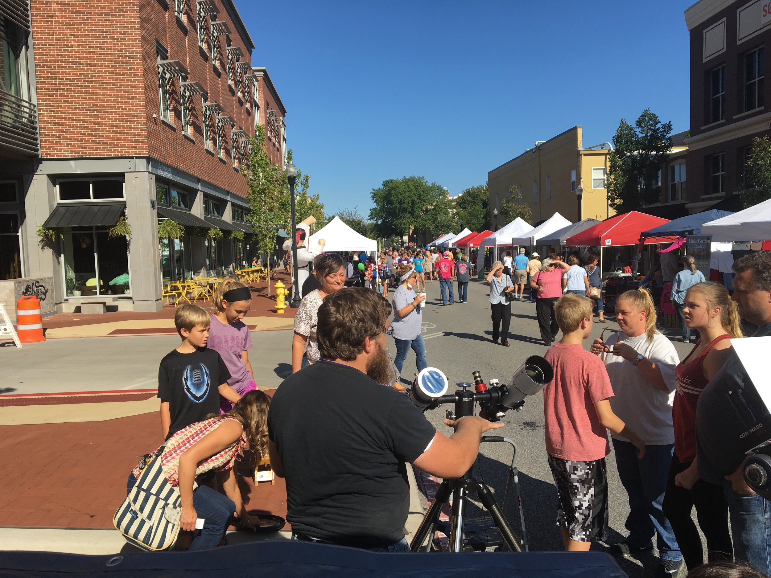 First Friday on Bentonville Square