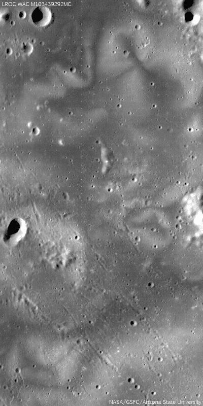 LROC image of more lunar swirl patterns!