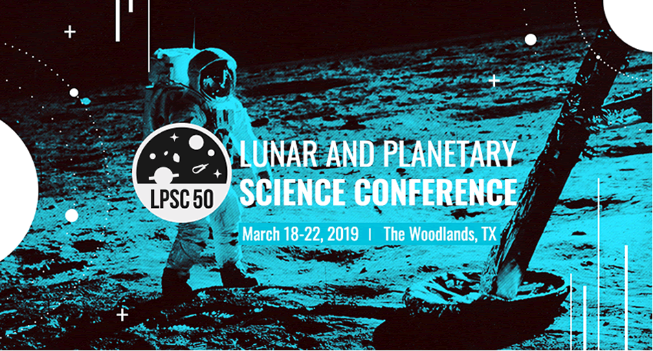 50th Lunar and Planetary Science Conference 2019, sponsored by the Lunar and Planetary Institute.