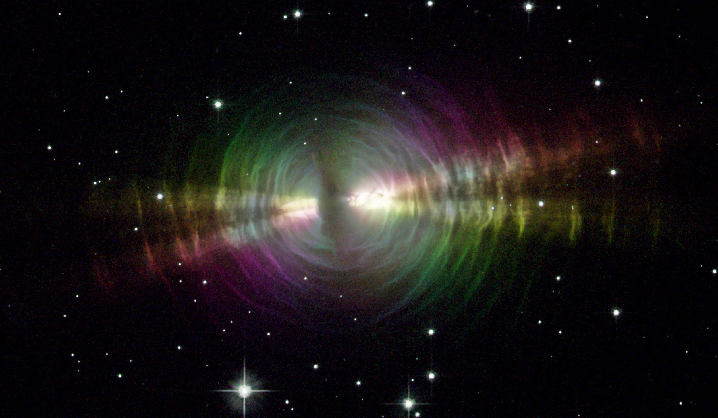 Egg Nebula! Image credit: Hubble/NASA/STScI/JPL