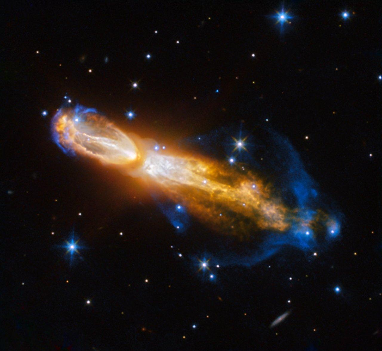 Calabash Nebula! Image credit: Hubble/NASA/STScI/JPL