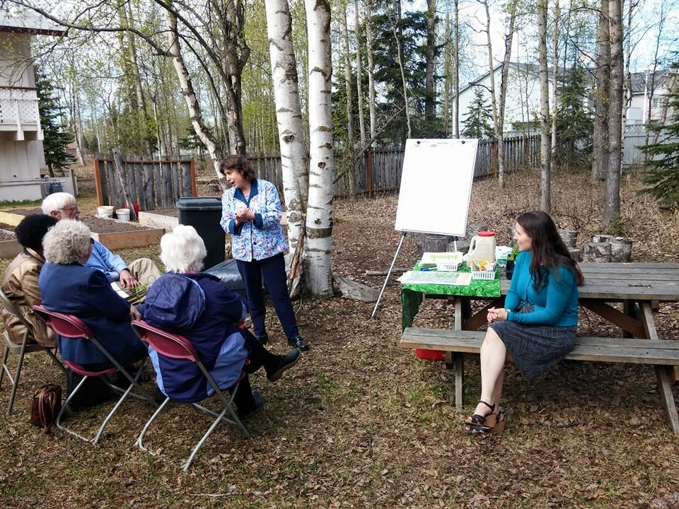 Mother's Day, 2015- Gardening 101 with Julie Riley, a horticulture agent with the University of Alaska Fairbanks Cooperative Extension!