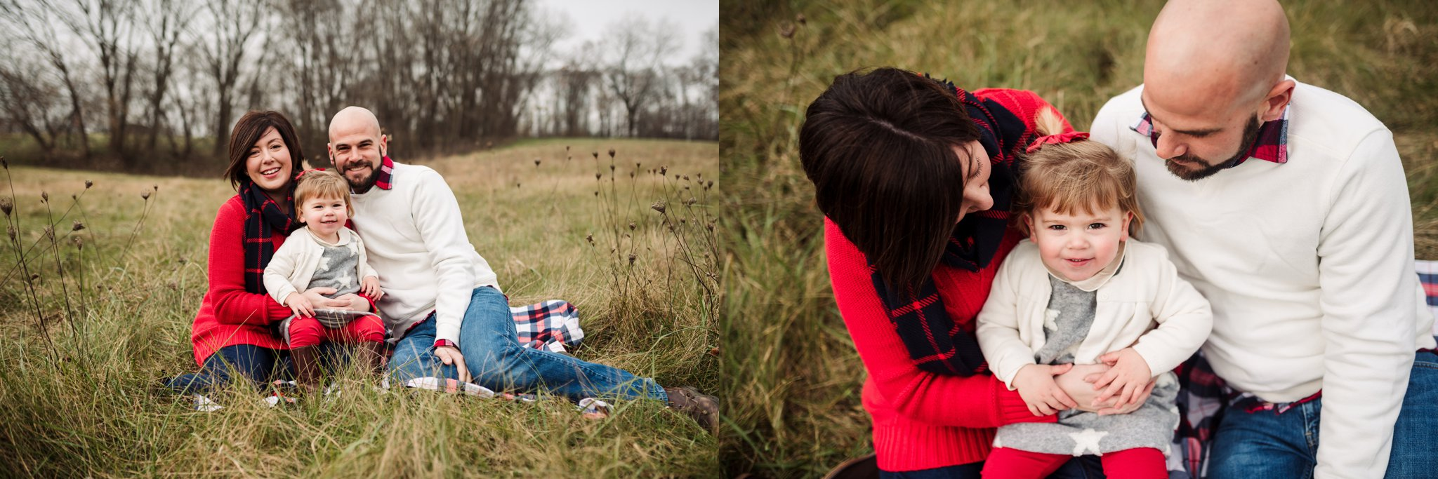 Sun Prairie Photography Burke Park WI Family sitting in field.jpg