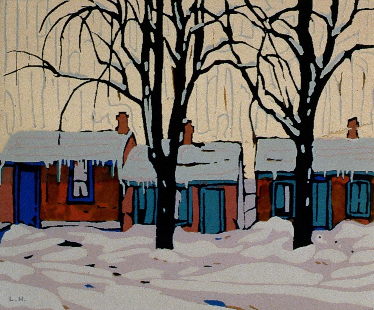 Untitled, Lawren Harris, Serigraph, 1984.02.13