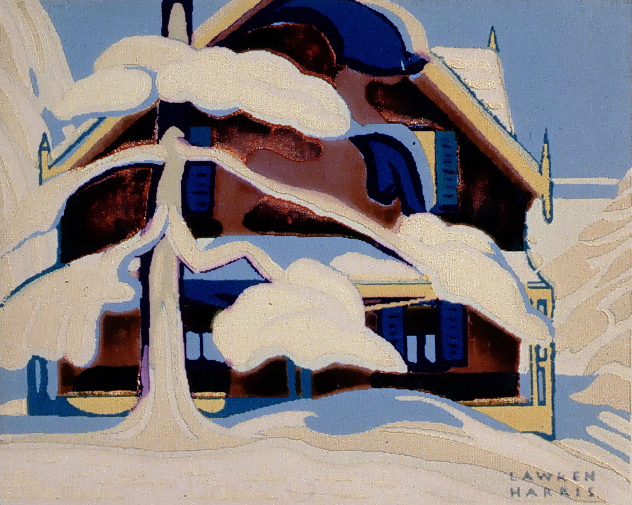 Untitled, Lawren Harris, Serigraph, 1984.01.12