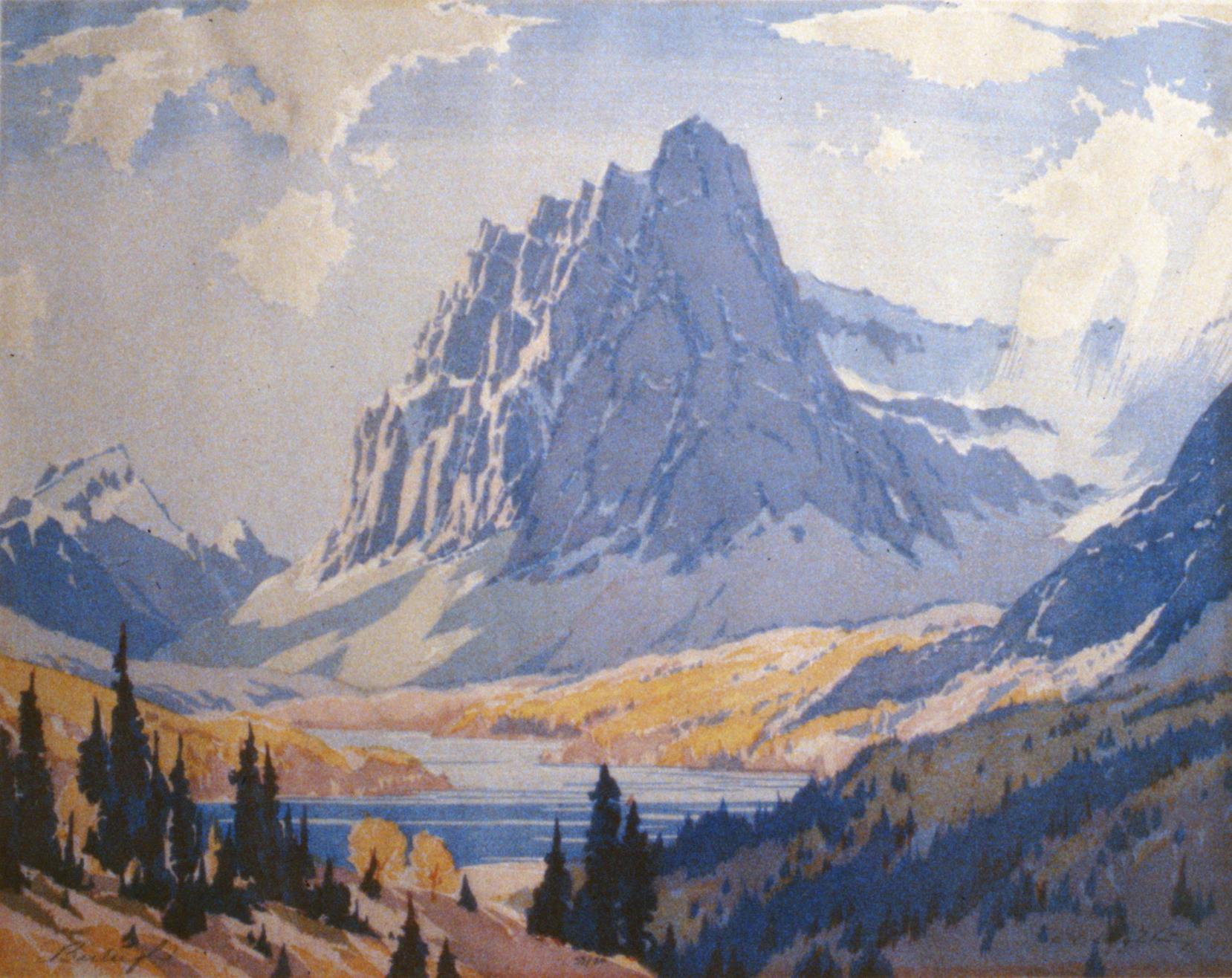 Castle Mountain , Barbara Leighton, 1993.02.02