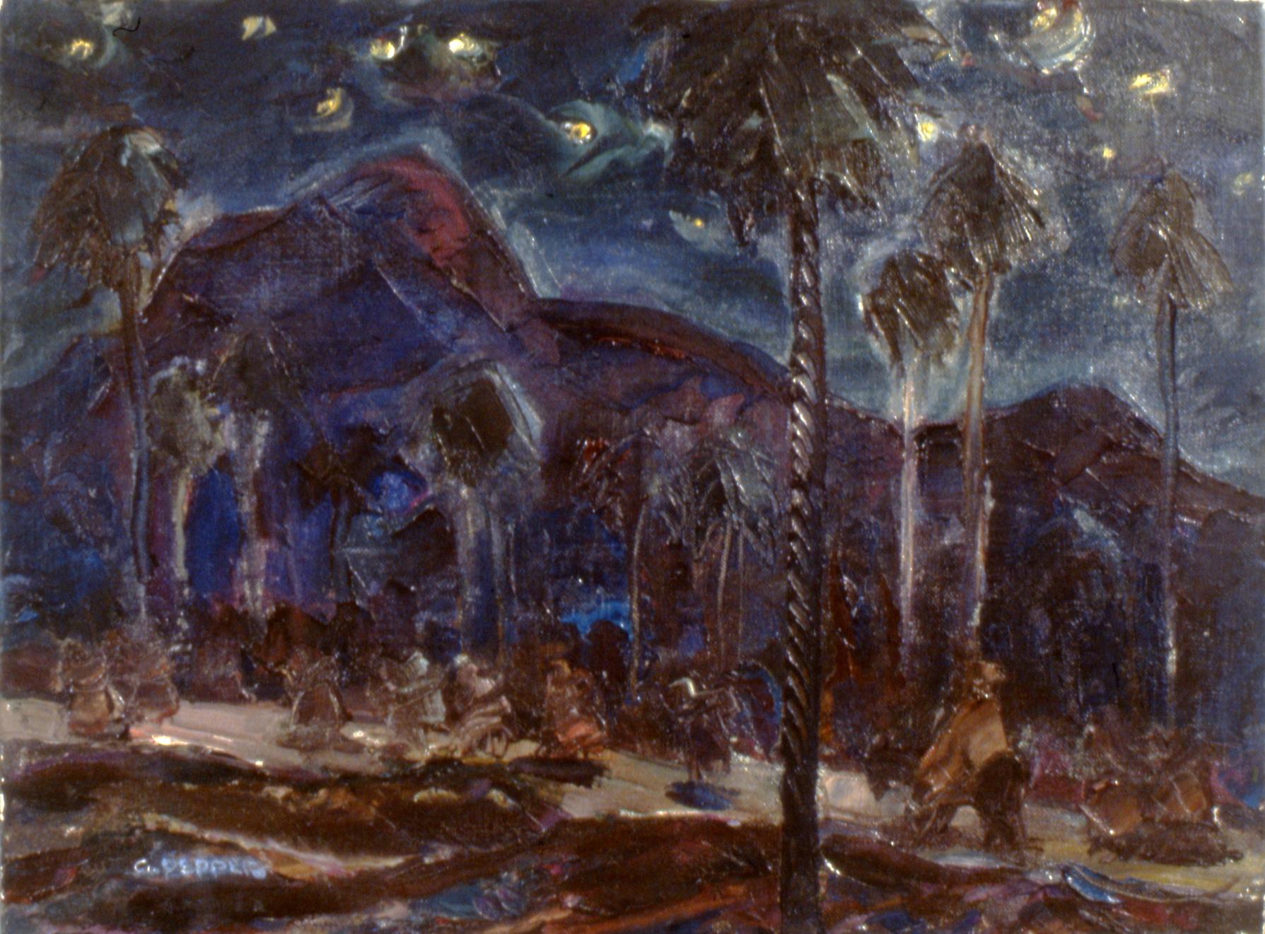 Night in Xauen