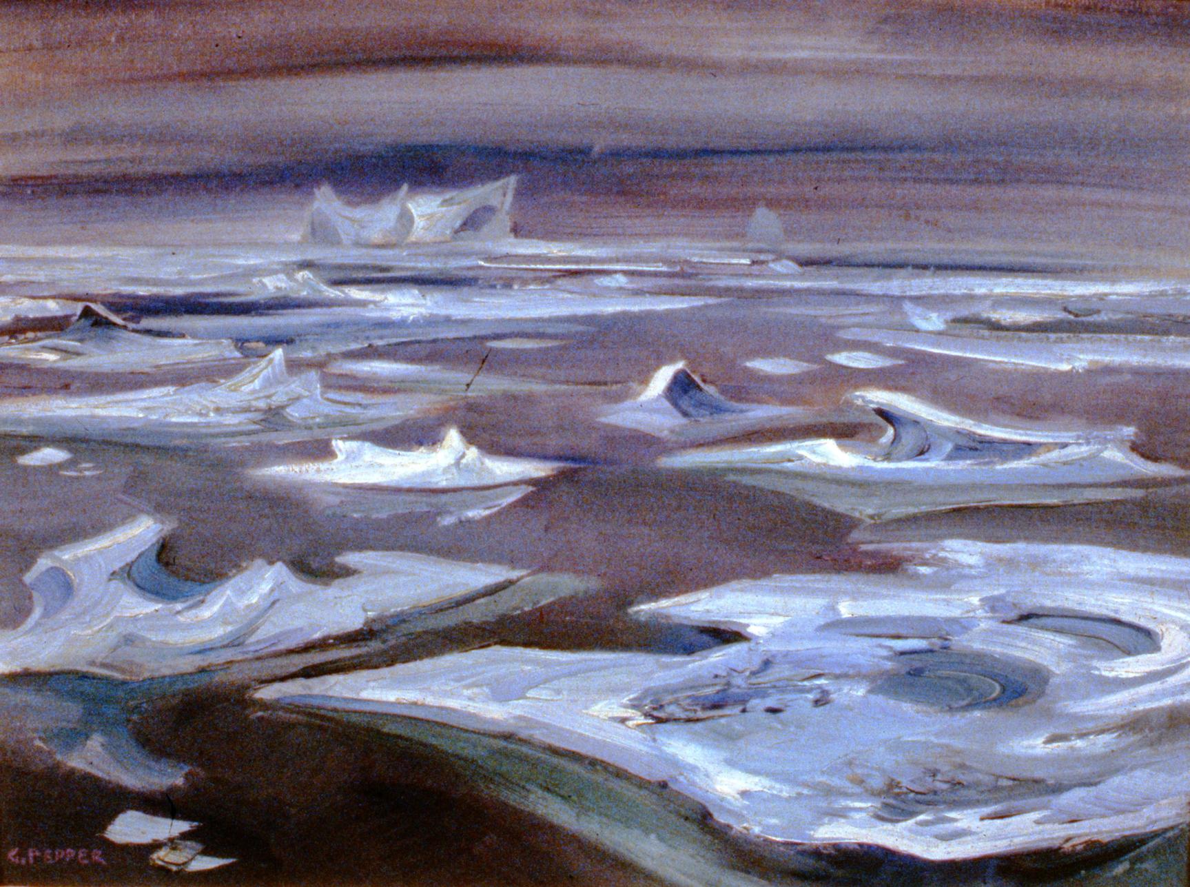 Glacier Ice Forms