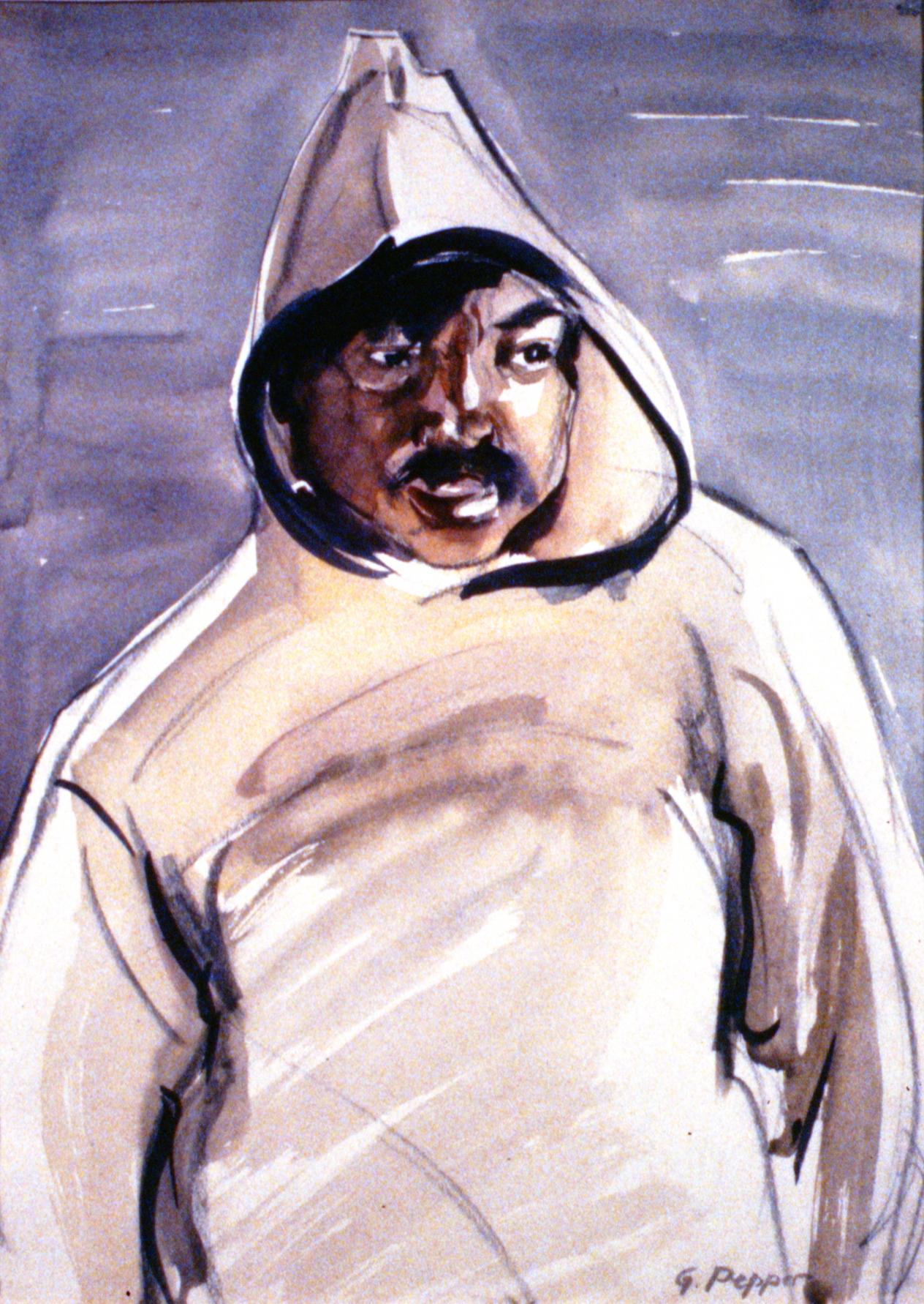 Untitled (Inuit Man)