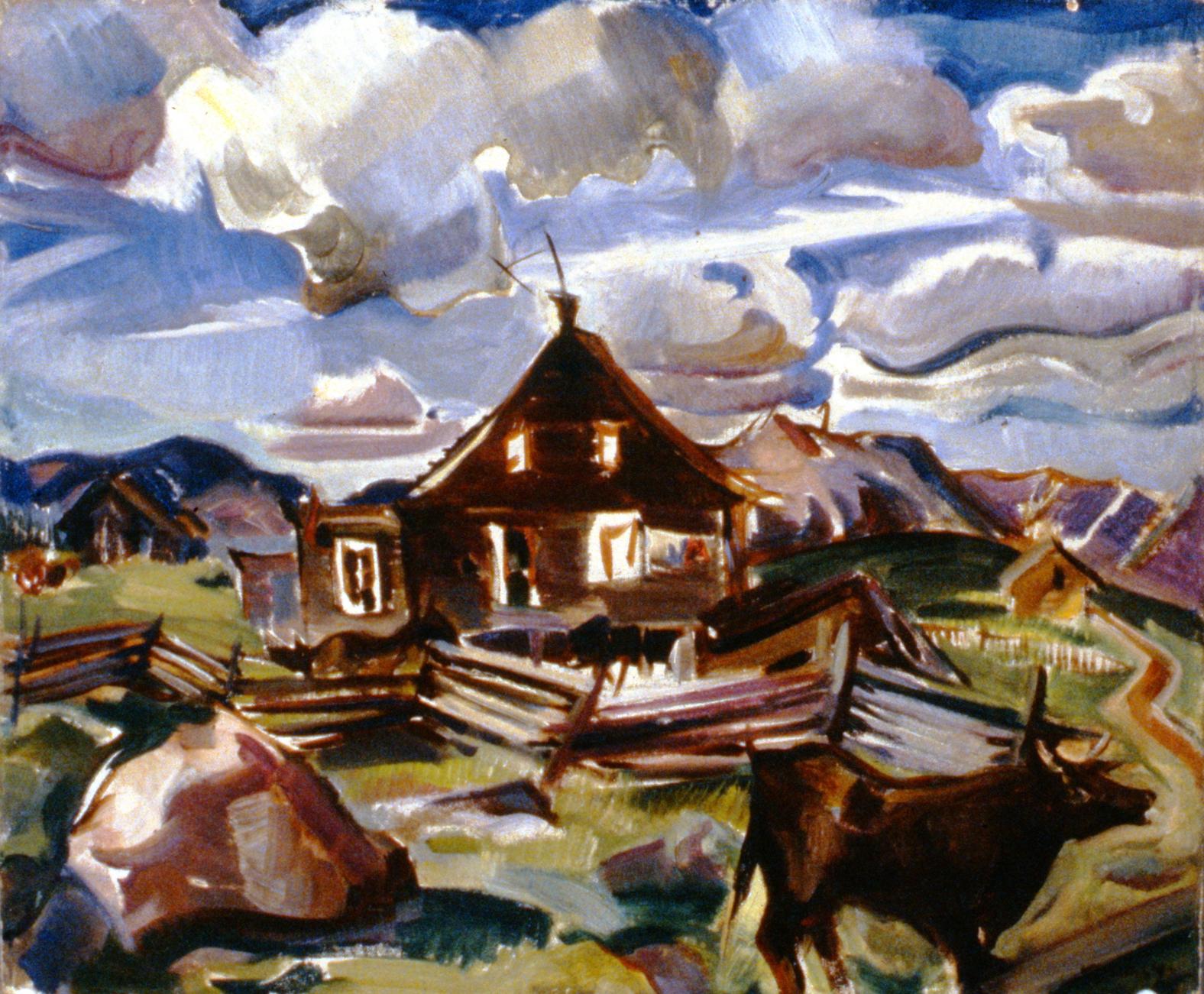 Pioneer Homestead, nd.