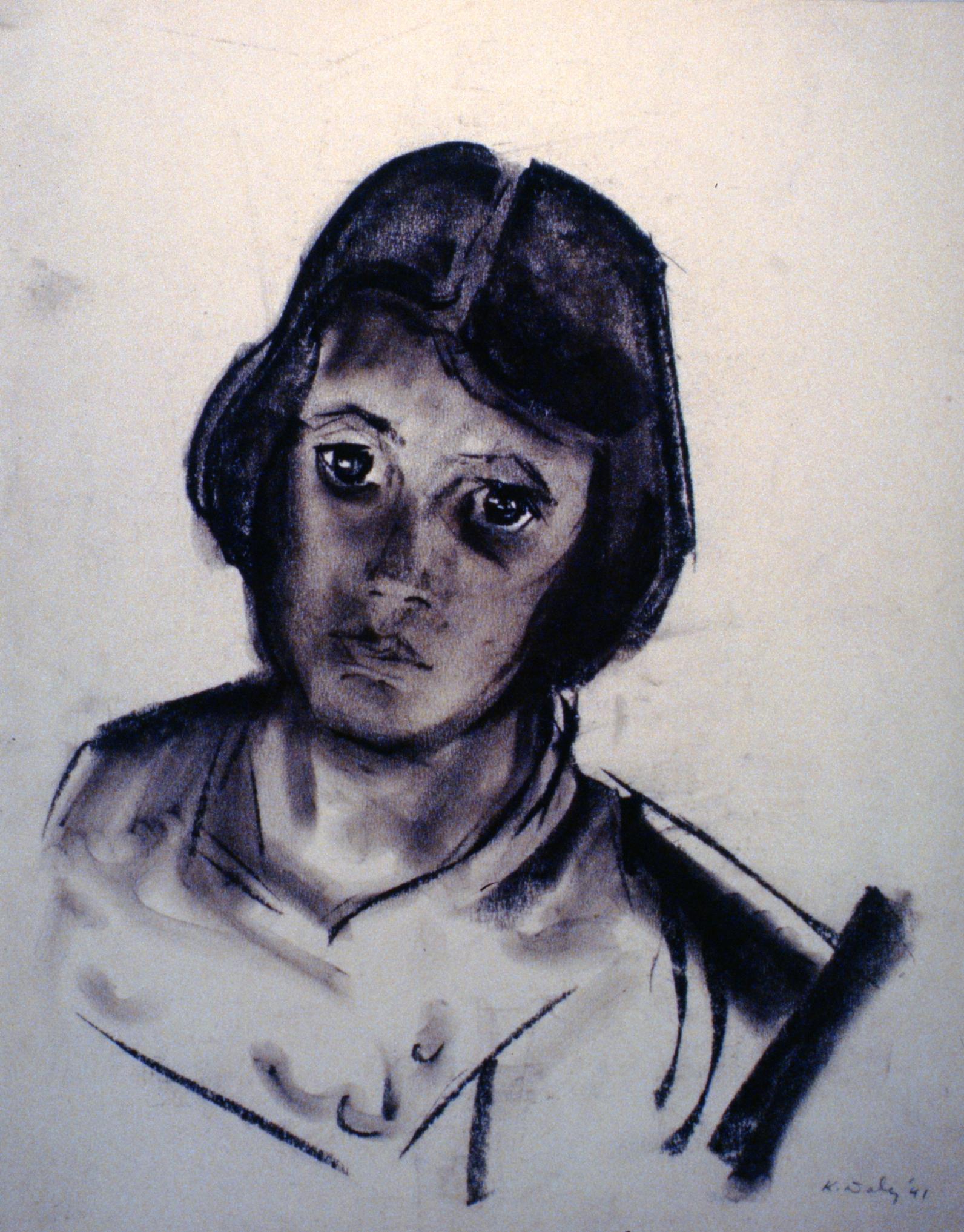 Untitled (Girl), 1941