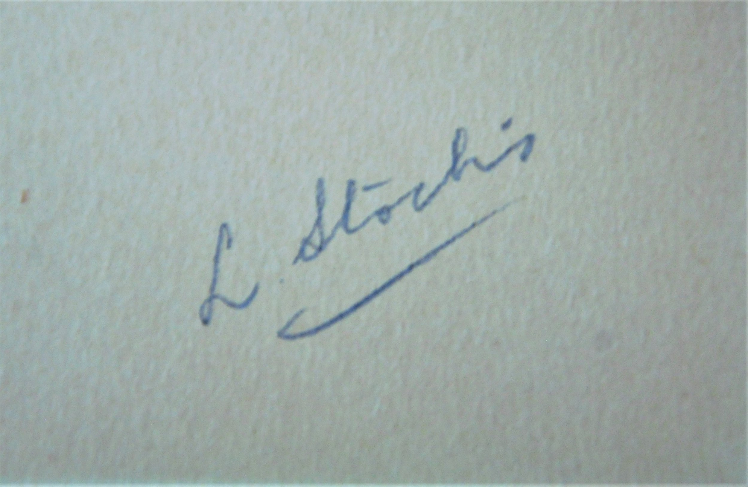 Various signatures on Stocks photographs