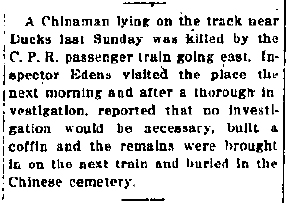 1917 08_01 No Investigation into death of Chinaman.jpg