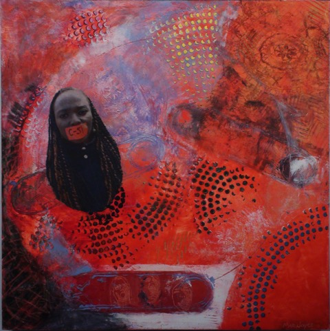 33-7 Priceless 24_ 61 cm sq, oil on wood panel with photo collé, courtesy Ray Harper $2000.00.jpeg