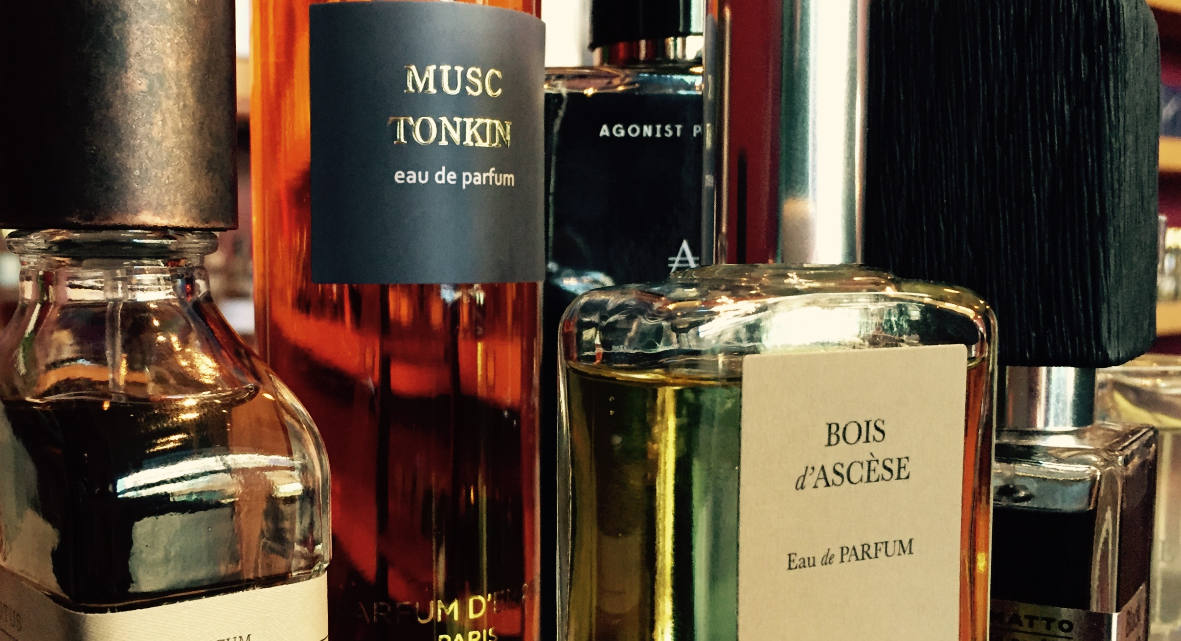 The fragrances pictured here range in concentration from eau de parfum to extrait and no two are guaranteed to have the same percentage of aromatic compounds.