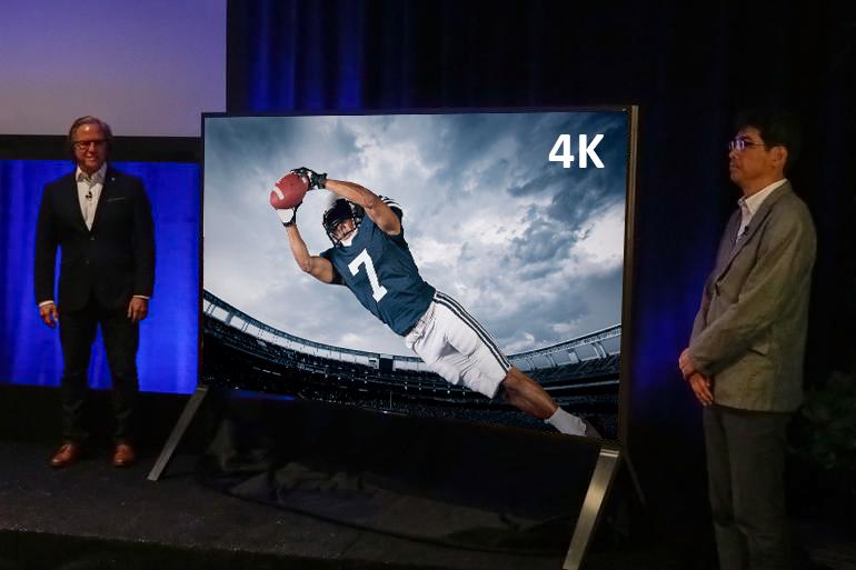 """Sony's amazing 100"""" 4K UHD flat panel TV"""