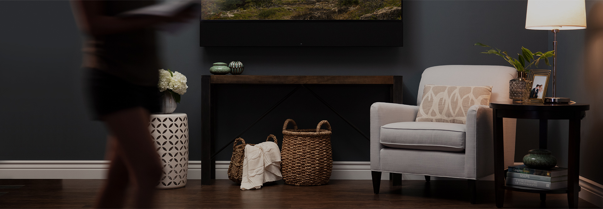 Custom Soundbars Built to Match any TV - Horizon Series soundbars are custom built to match the exact width of any TV, providing high-performance audio with a discreet aesthetic, perfect for any system.