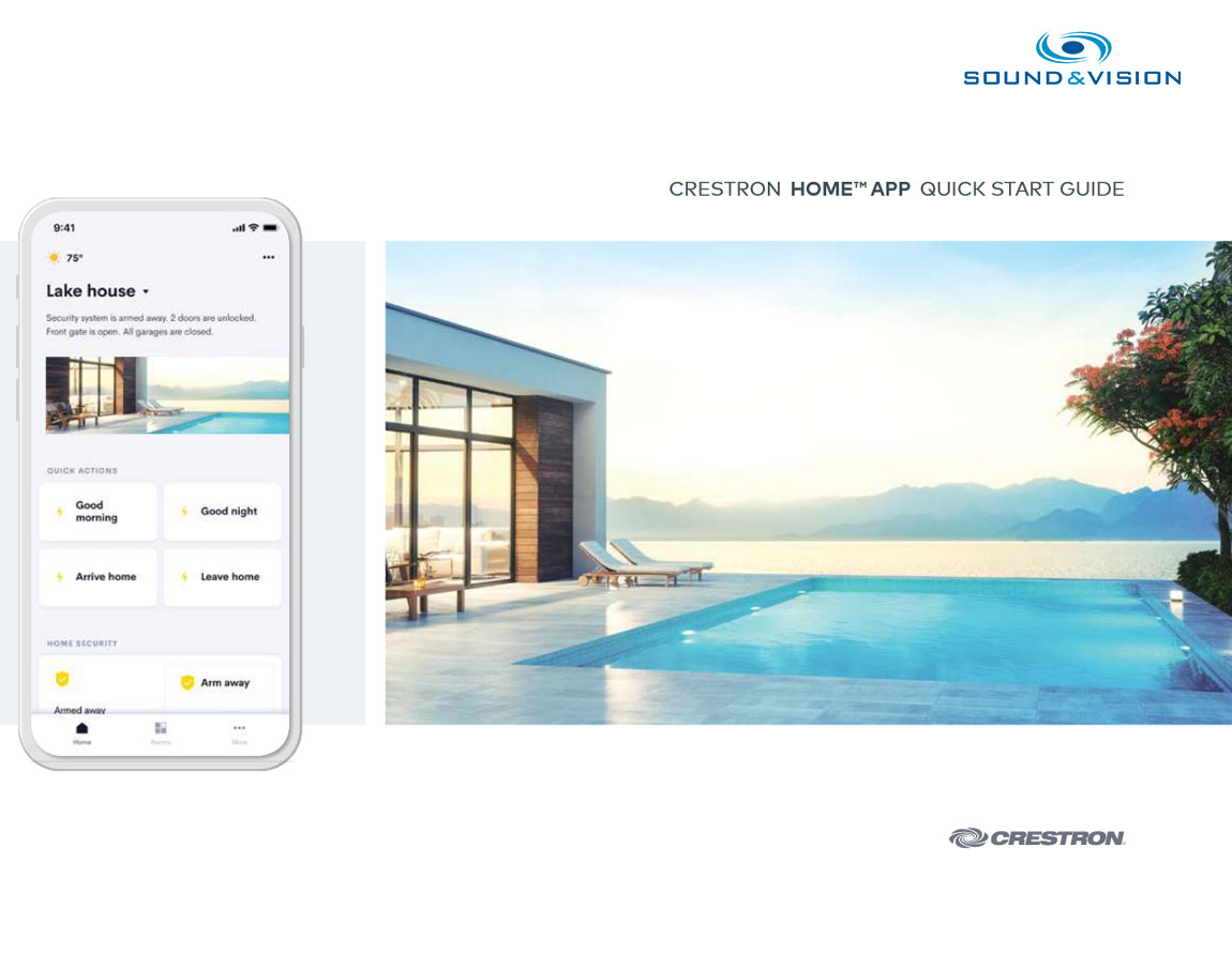 Crestron Home App Quick Start Guide click image