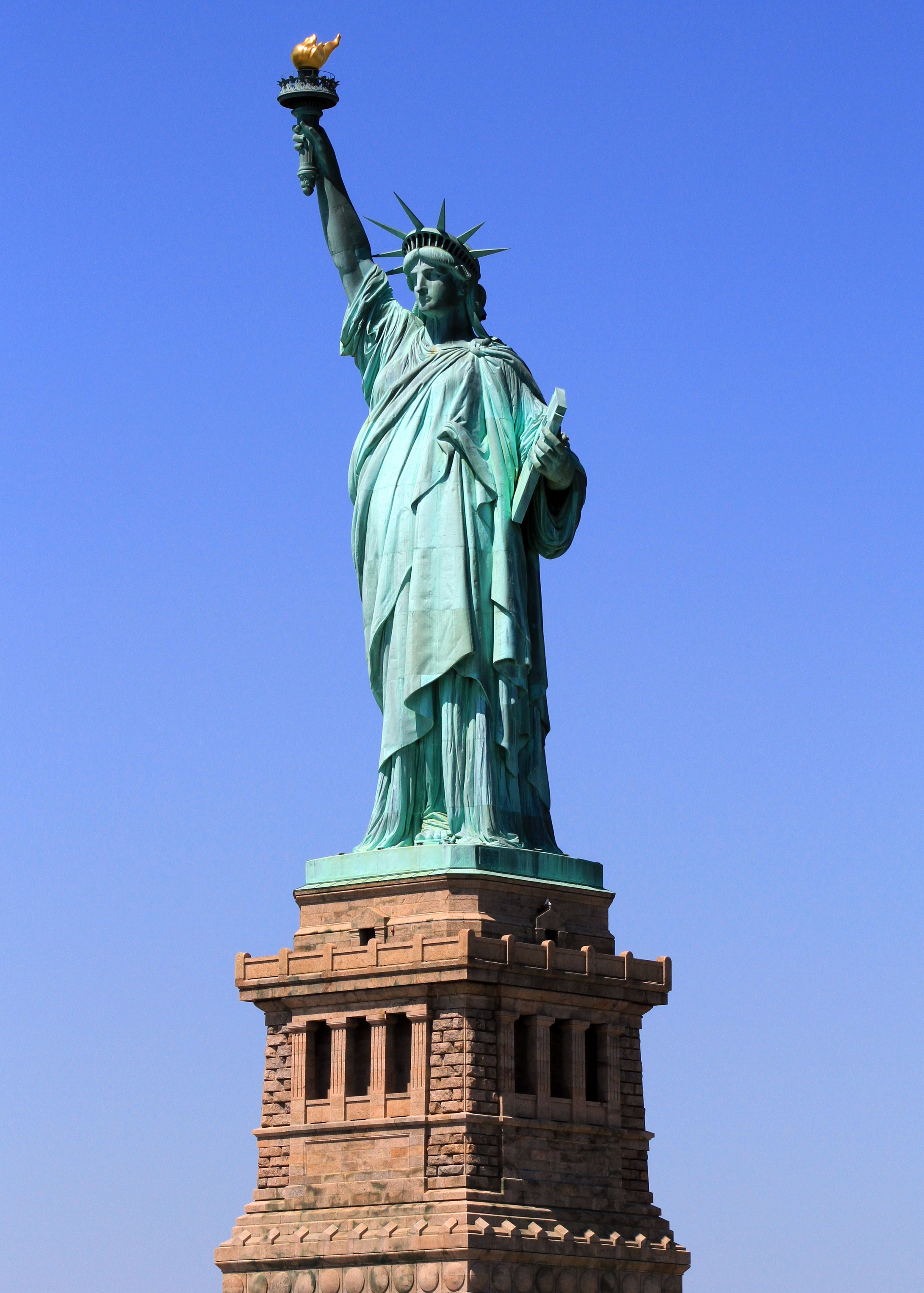 """""""Give me your tired, your poor, your huddled masses yearning to breathe free, the wretched refuse of your teeming shore. Send these, the homeless, tempest-tossed to me. I lift my lamp beside the golden door."""" (Inscription on base of the Statue of Liberty)"""
