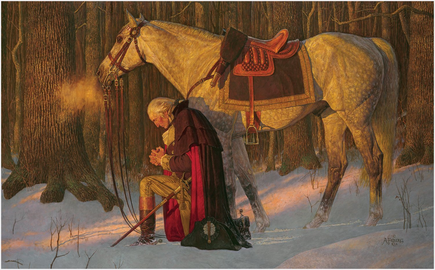 The Prayer at Valley Forge - Arnold Friberg