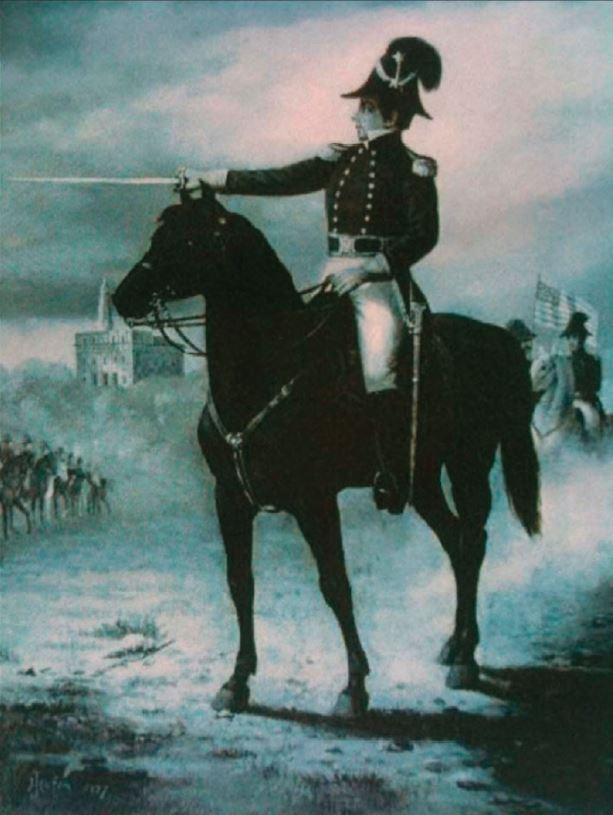 Lieutenant General Joseph Smith commanding the Nauvoo Legion