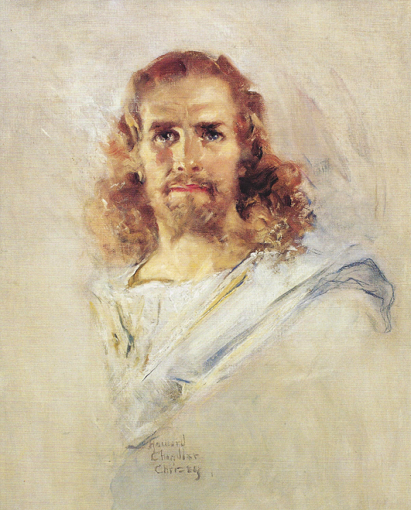 Head of Christ by Howard Chandler Christy