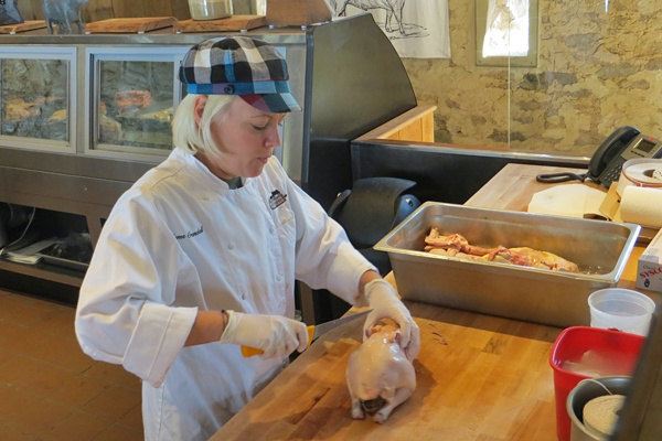 Head Chef and Butcher at Wyebrook Farm