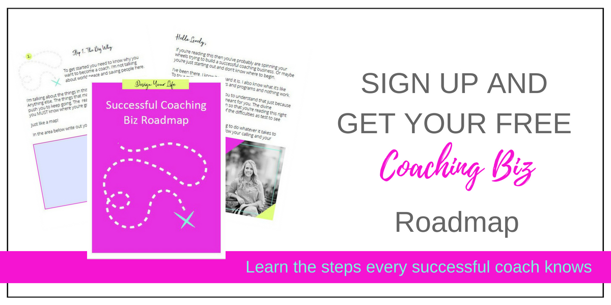 Roadmap for coaches