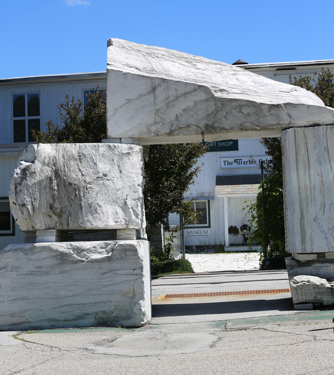 Vermont marble museum