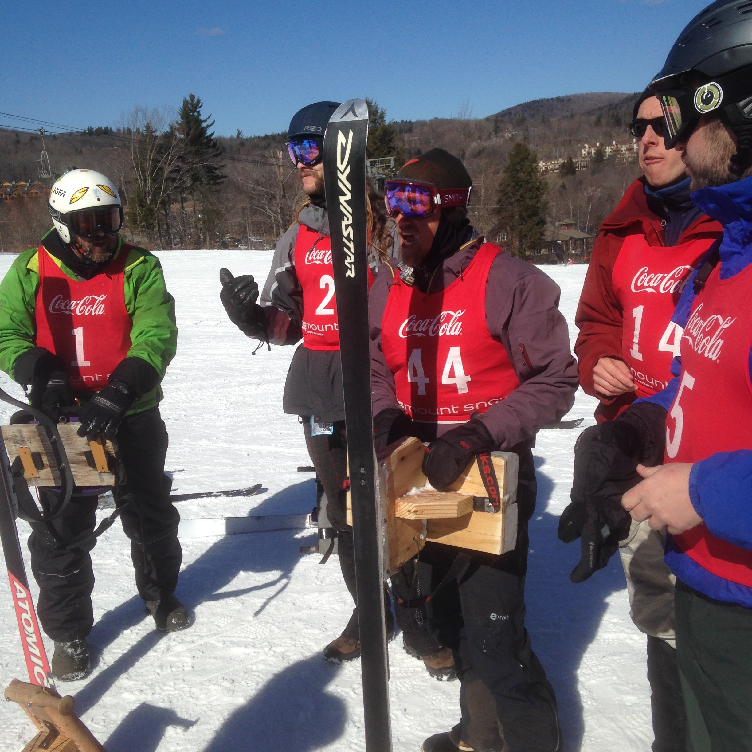 The Mt. Philo Inn sponsors the Mt. Philo jack jump team (right) in the yearly world championship at Mt. Snow in southern VT. March 2019: gold in Men's and Womens division. 2018: Men's gold, bronze, Women's silver, 2016: 2nd and 4th. 2015 Men's gold