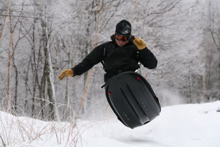 The Mad River Rocket, first produced locally, is great in powder