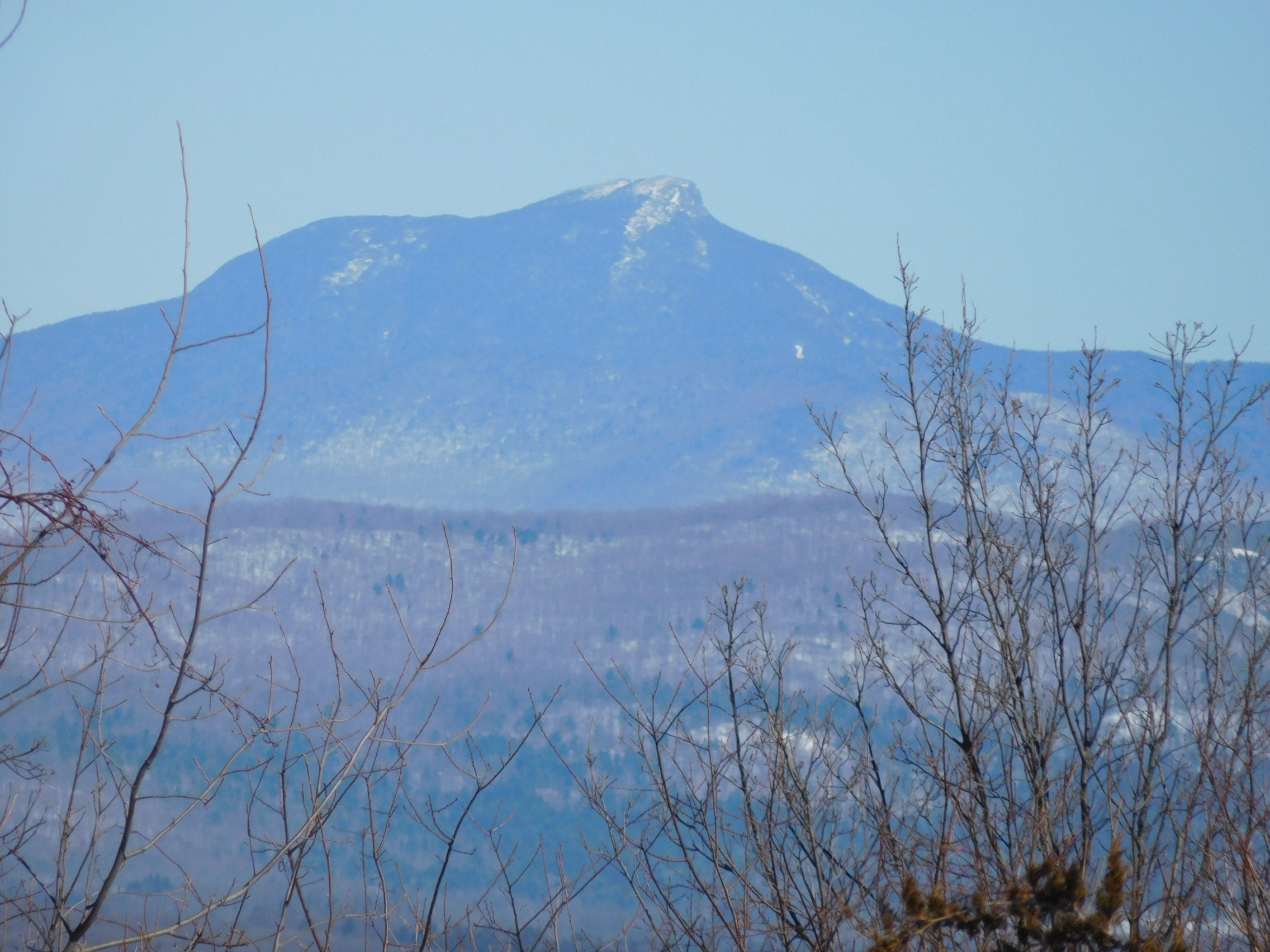 Camels Hump from Mt. Philo