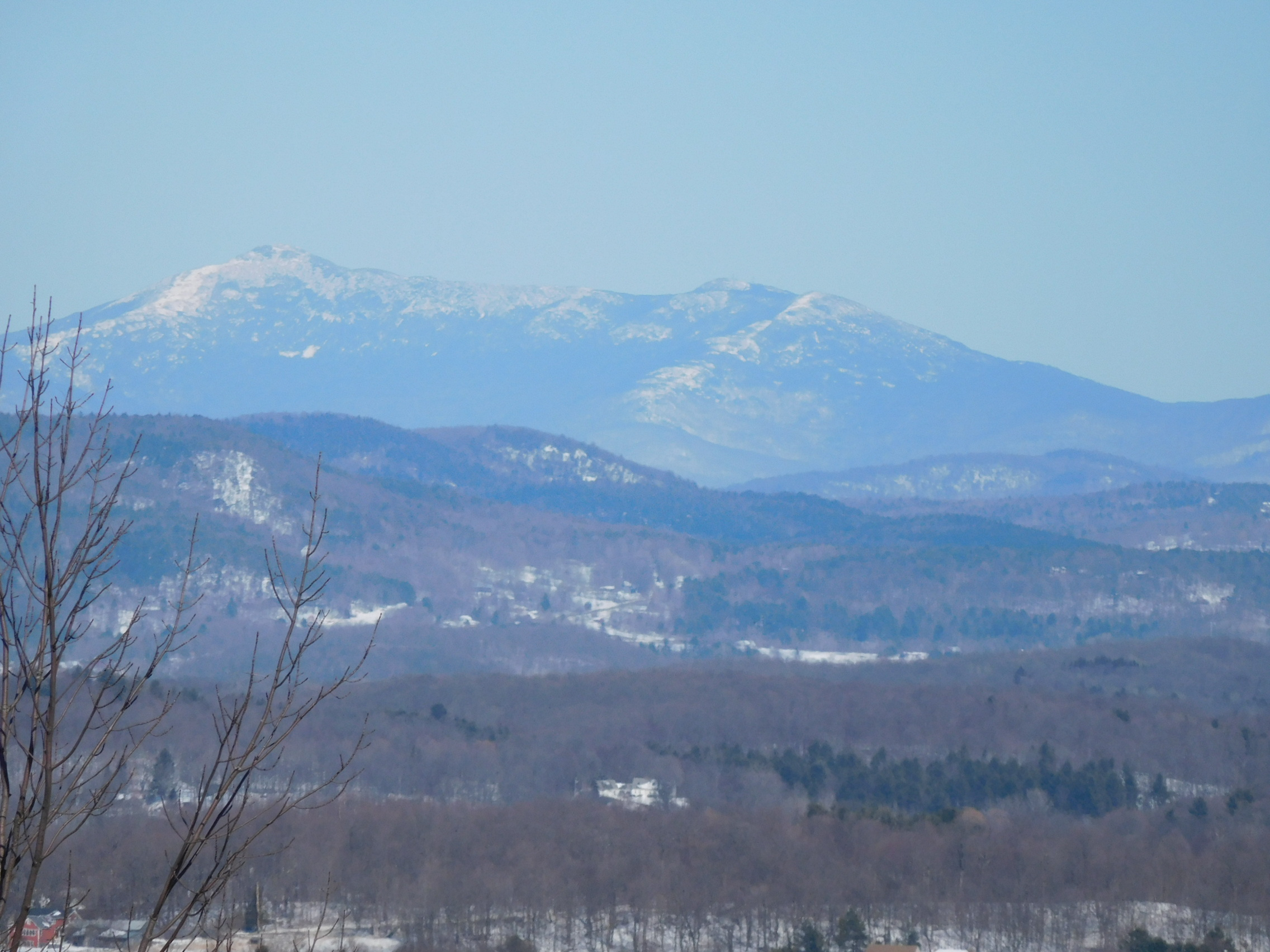 Mt. Mansfield from Philo. Rare accessible 360° views
