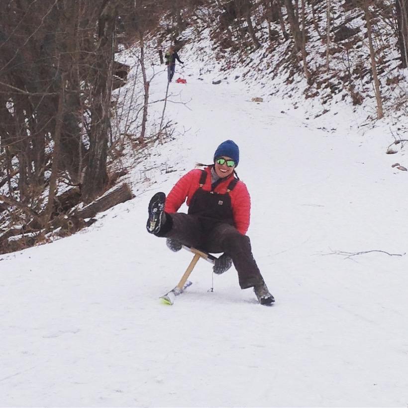 Mt. Philo jack jumping fun
