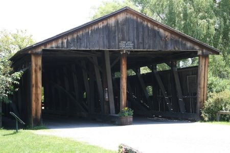 Museum Covered Bridge, Shelburne Museum, Shelburne Vermont