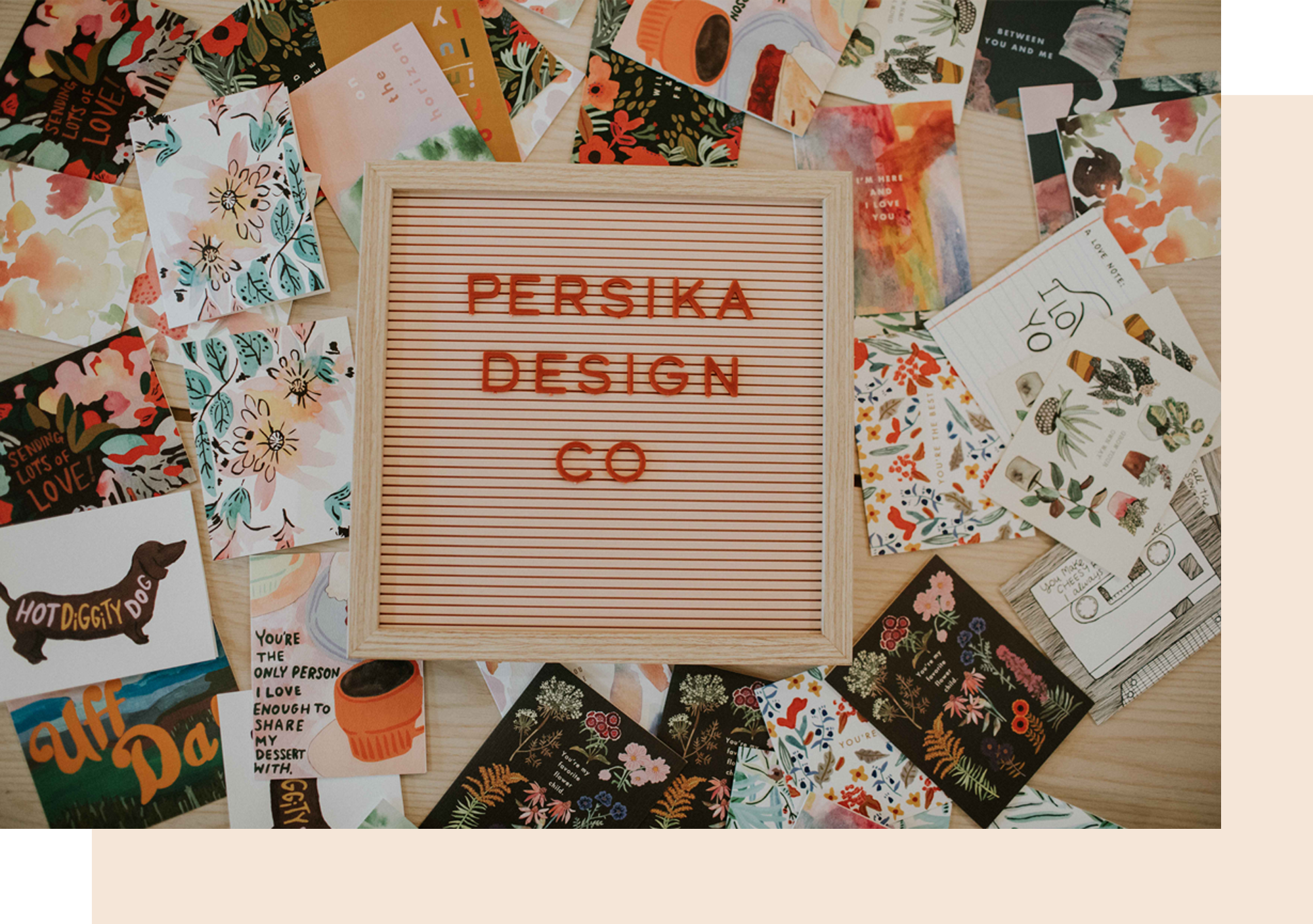 PERSIKA DESIGN CO STOCKISTS