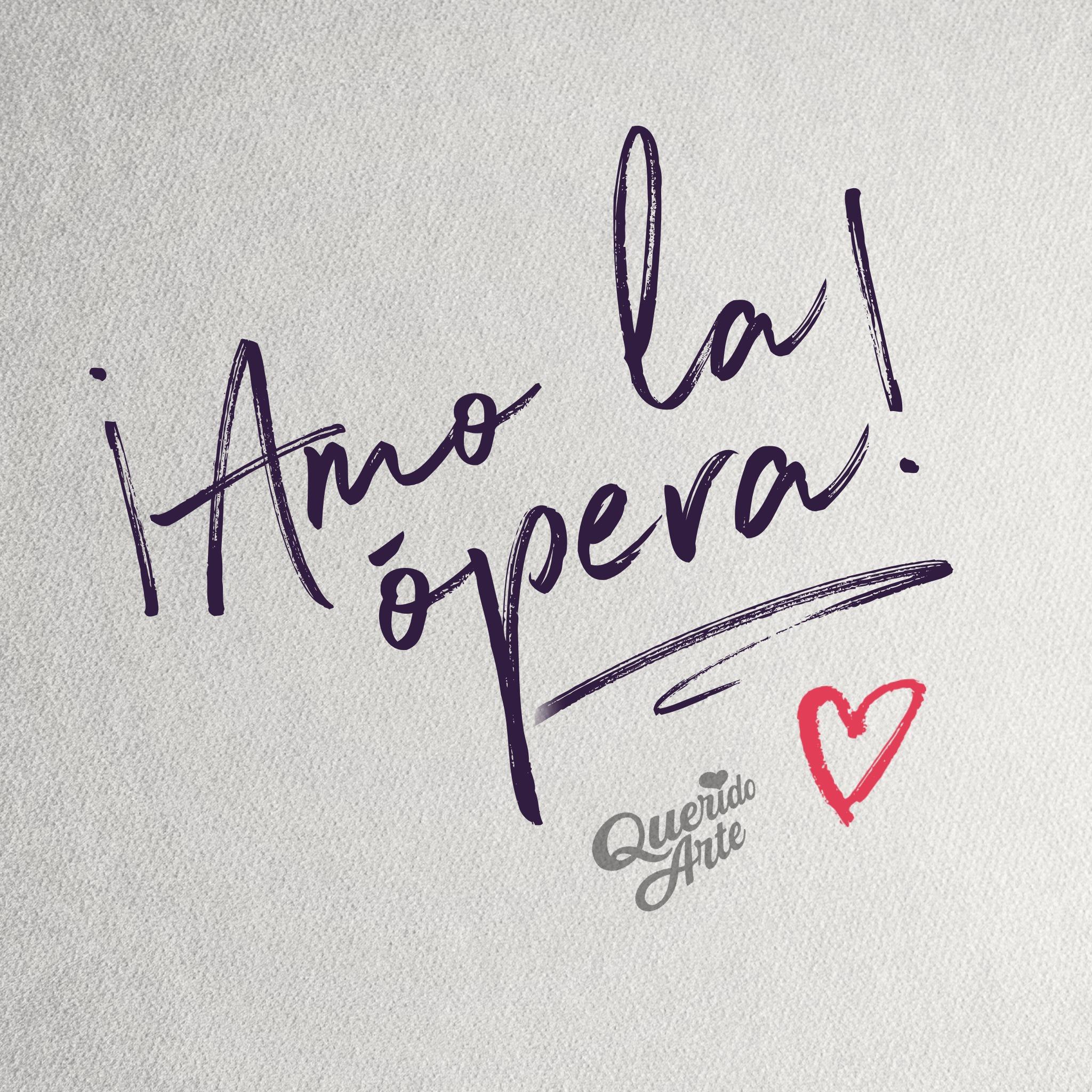 Amor a primer oído 👂 ••• I ♥️ OPERA ¿y tú?  Comparte tu amor por la ópera con los demás 🙋🏻♀️🙋🏻♂️  #QueridoArte   #OperaLovers   #OperaAdictos