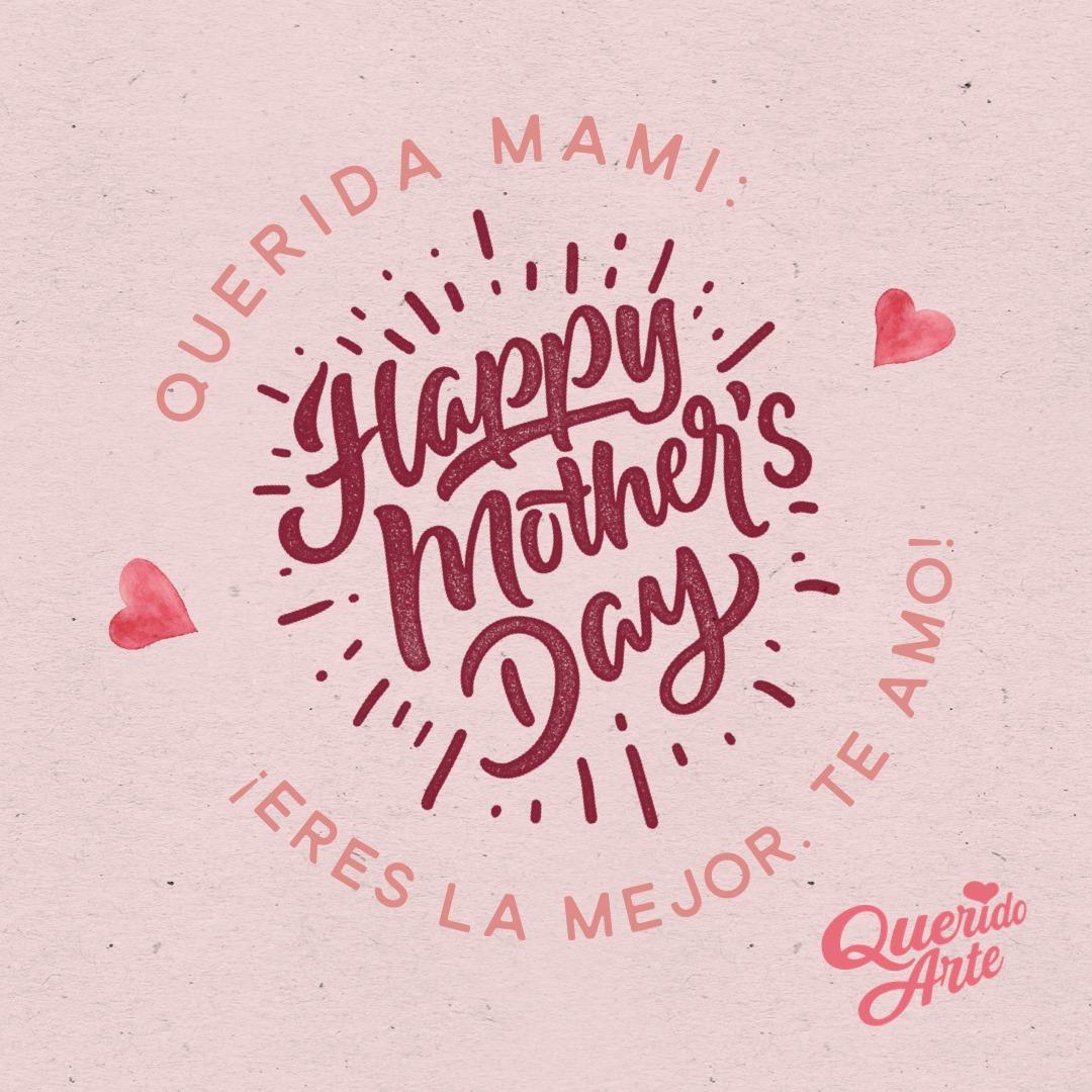 FELIZ DÍA DE LA MADRE   La obra maestra de la creación, es el corazón de una madre. ¡Gracias Mamis por tanto! 🌹💕 ¿Qué aria o canción le dedicas hoy a tu mami? 💛 ¡Compártelo con ella aquí! 👇 #QueridoArte