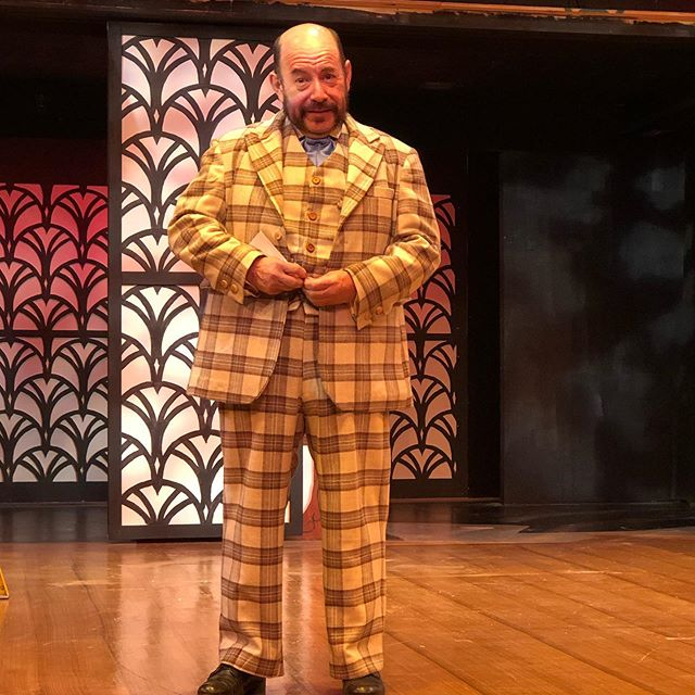 SLO Rep opens Hello Dolly this weekend and I've been working nonstop on costumes for the last 6 weeks.  Check out this custom 3 piece turn of the century suit for the Dolly's leading man Horace.