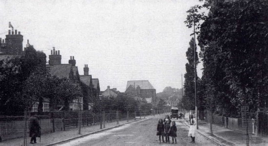 Keith Every kindly gave permission to reproduce this photograph of Durham road c.1912, from the book 'Wimbledon in Old Photographs', by Patrick Loobey and Keith Every.