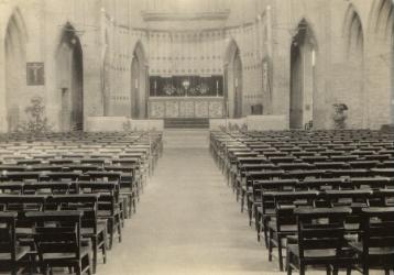 st matthews church midnight mass 1939