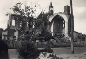 st matthews church flying bomb destroyed 1944