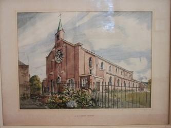 st matthews church painting