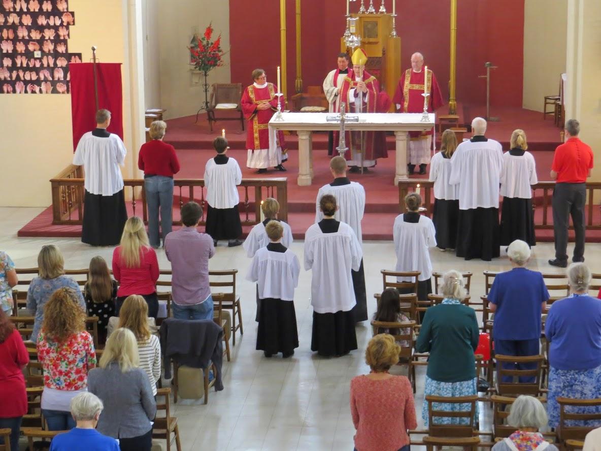 Bishop Christopher's Visit