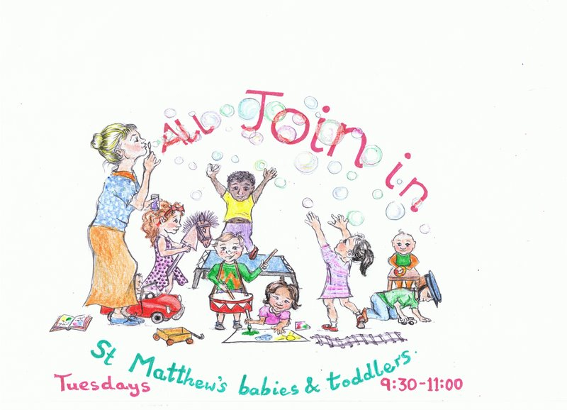 If you have little ones, why not come and have fun at the Toddler Group?